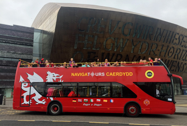 Navigatours Cardiff - Hop-on Hop-off Sightseeing Bus Tour